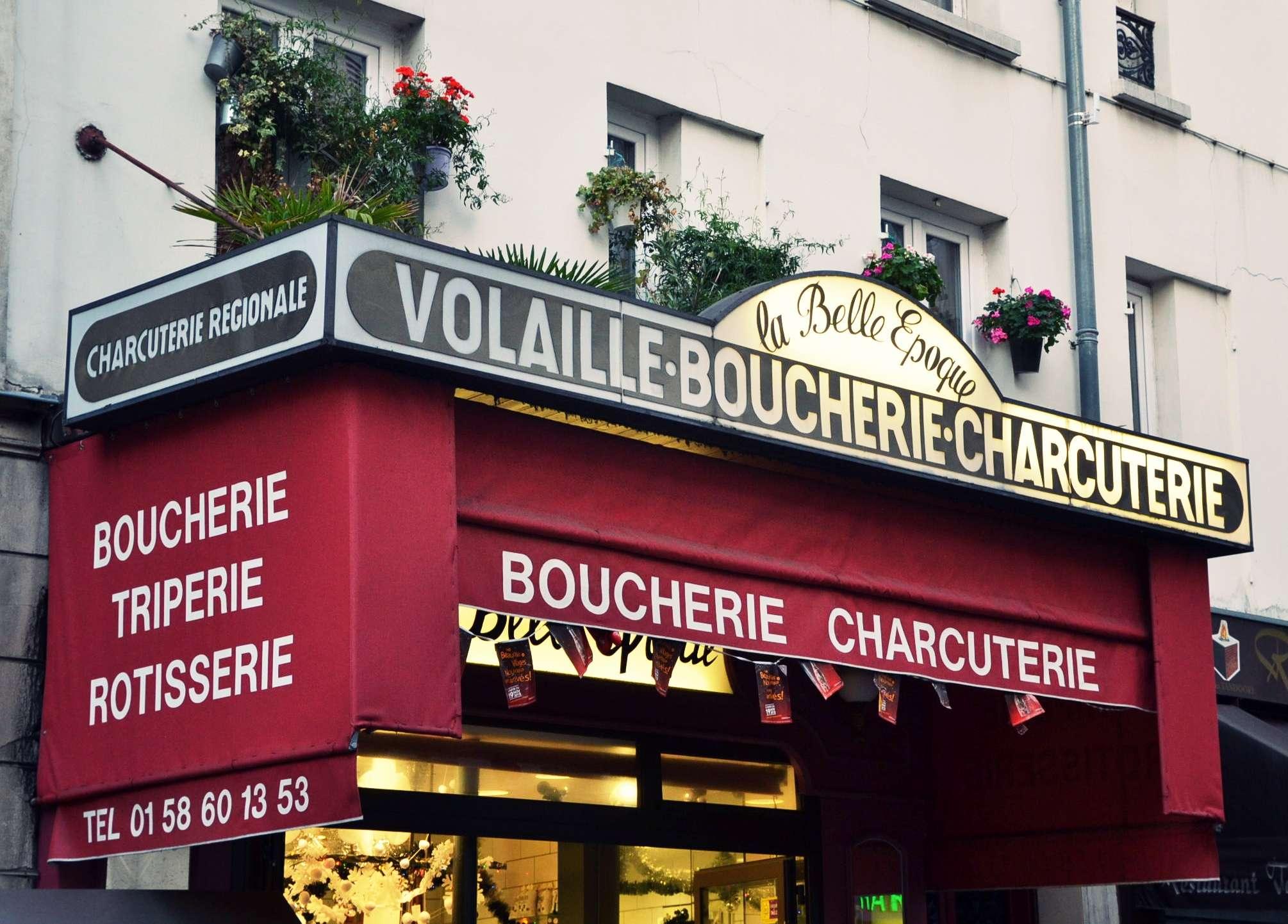 boucherie charcuterie triperie la belle époque paris 17 rue de la jonquière petits commerces petitscommerces.fr. 2