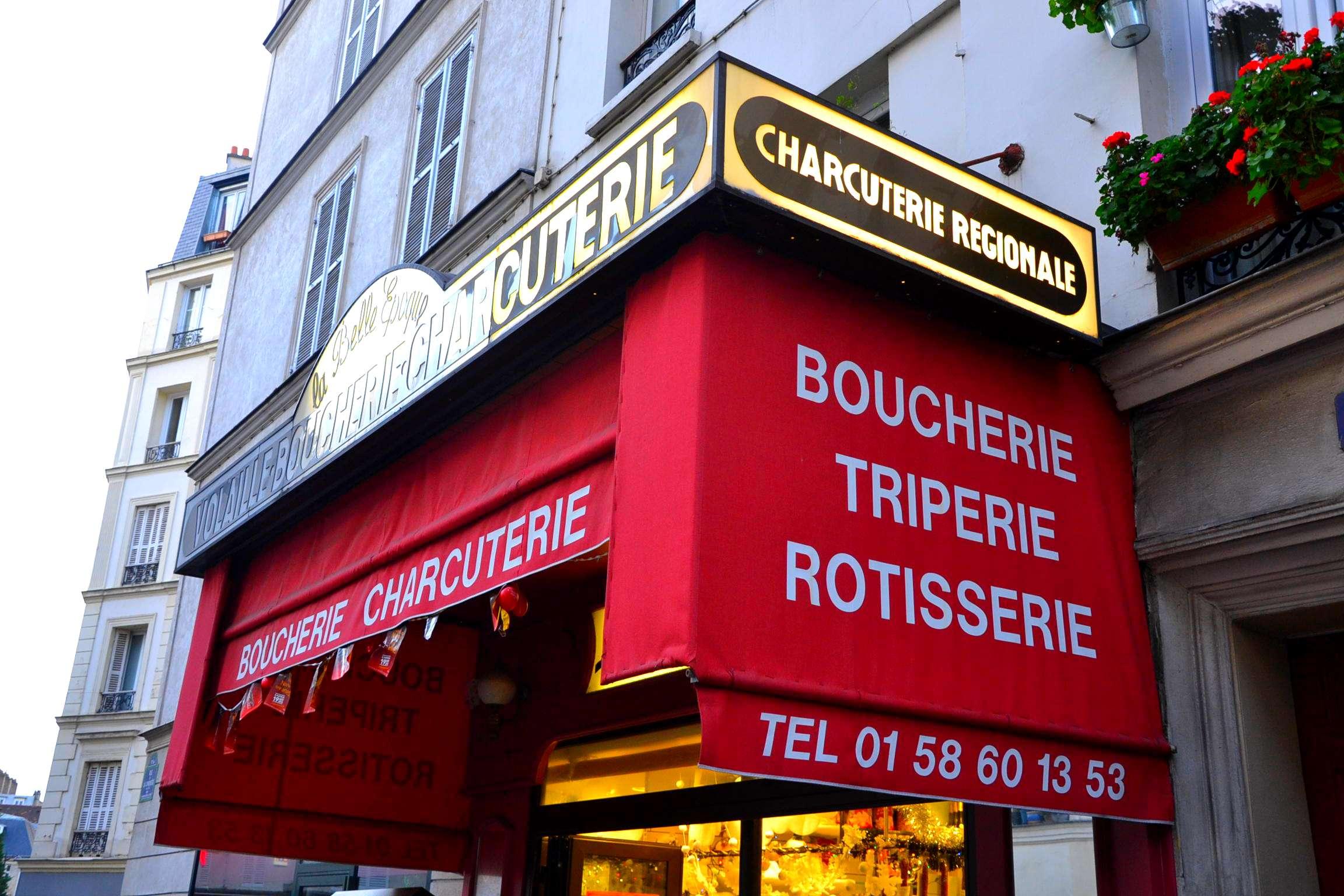 boucherie charcuterie triperie la belle époque paris 17 rue de la jonquière petits commerces petitscommerces.fr. 3