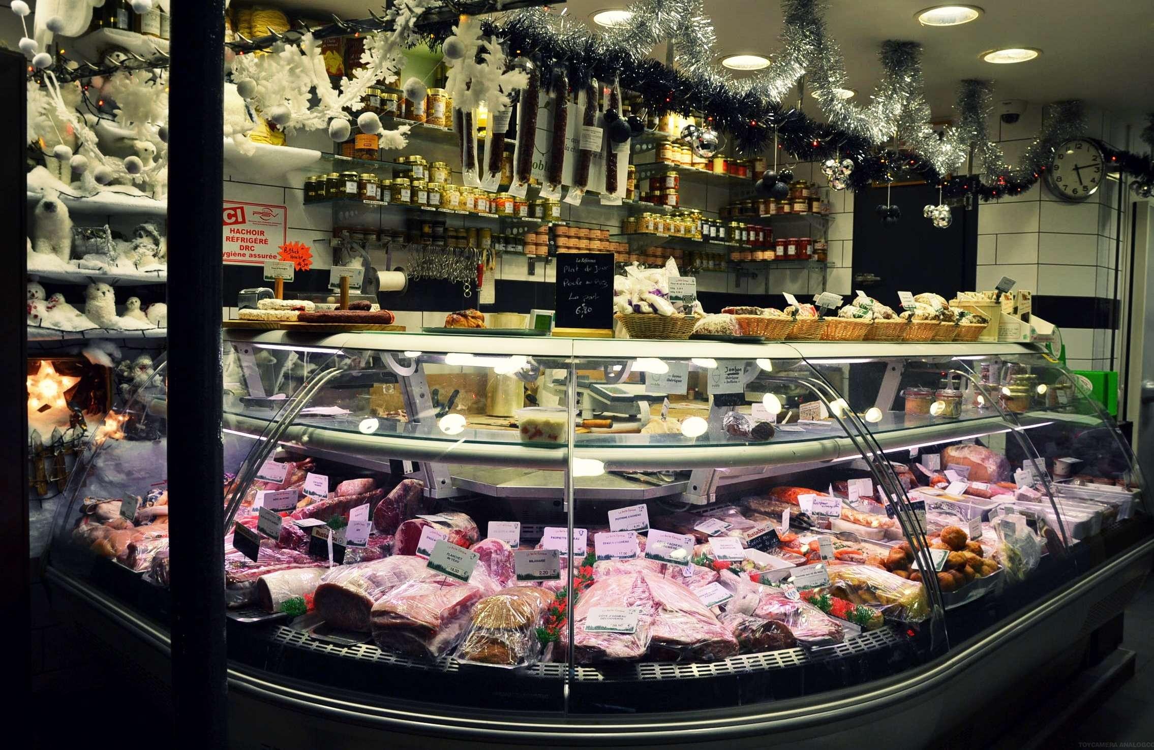 boucherie charcuterie triperie la belle époque paris 17 rue de la jonquière petits commerces petitscommerces.fr. 5