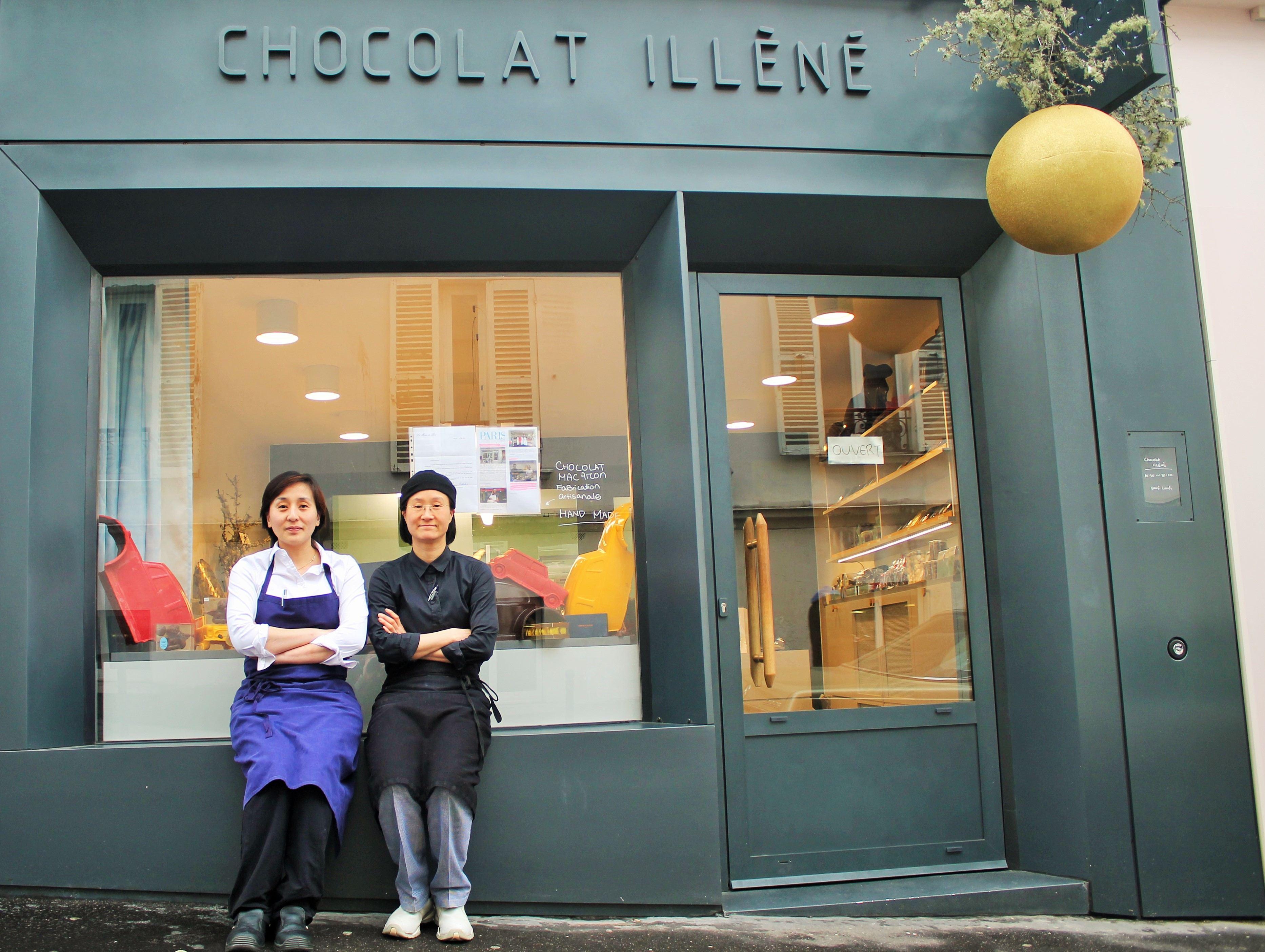 chocolaterie illèné pâtisserie Ahn Hyunsoo Cho Hyejin 75018 paris montmartre boutique petit commerce petitscommerces.fr