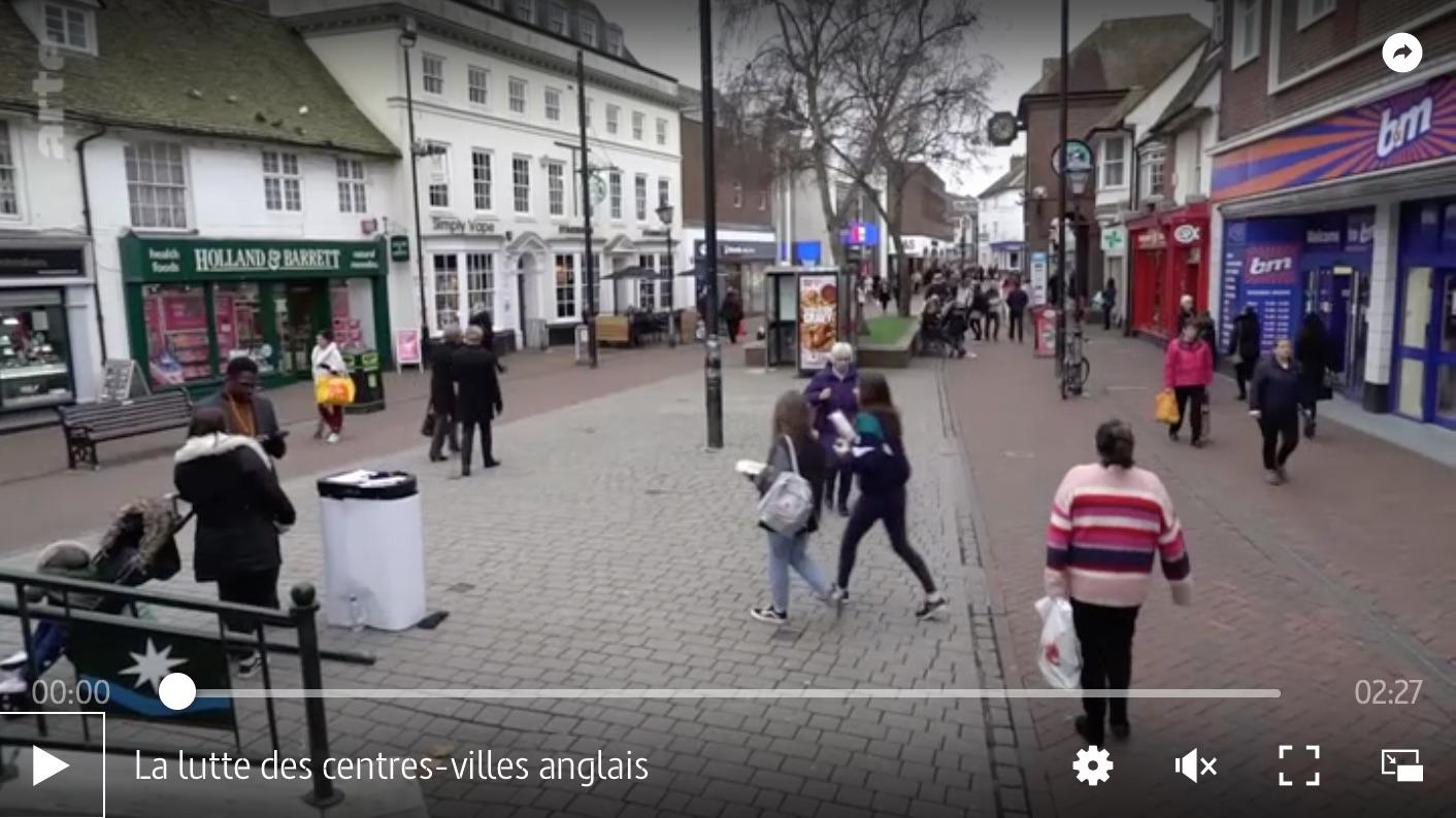 La lutte des centres-villes anglais à Ashford