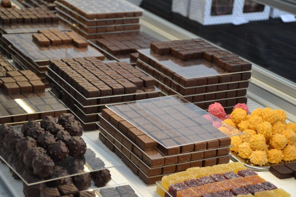 chocolaterie Laurent Roy Chocolatier Paris 17 rue brochant www.petitscommerces.fr petit commerce