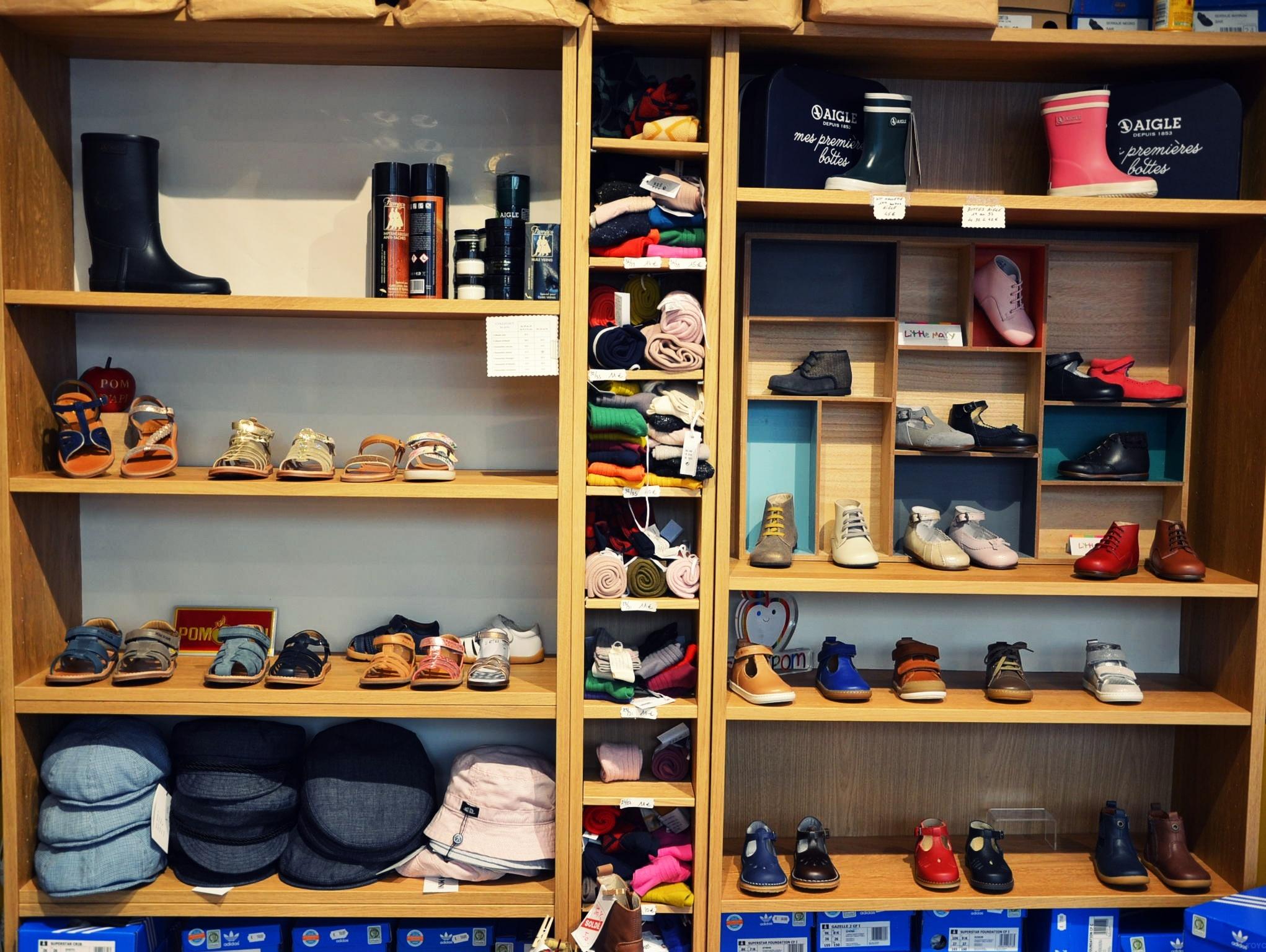Roi Paris Boutique 17 enfants Soulier chaussures de Le Ybyf76g