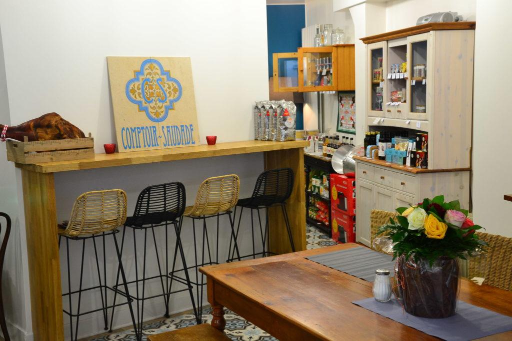Epicerie fine portugaise Comptoir Saudade 27 bis rue de la Jonquière 75017 Paris produits portugais ©Petitscommerces.fr petit commerce petits commerces 3