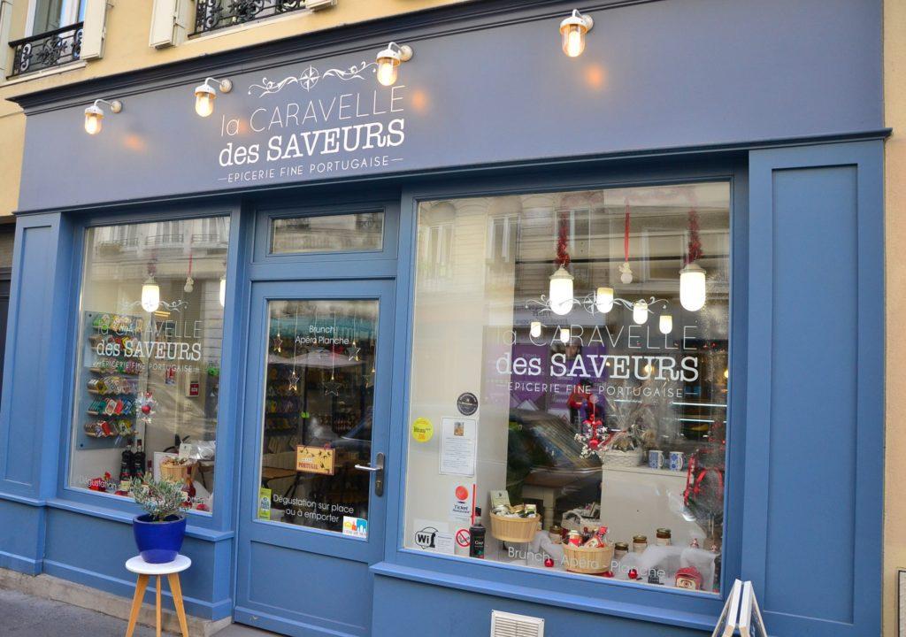 Epicerie fine portugaise La Caravelle des Saveurs 12 rue du Faubourg Saint-Martin 75010 Paris ©Petitscommerces.fr petit commerce petits commerces 1