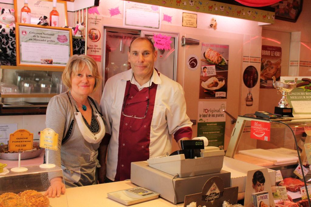 Annick et Christophe Chelet Boucherie Charcuterie Traiteur Saint Nazaire Petitcommerces.fr