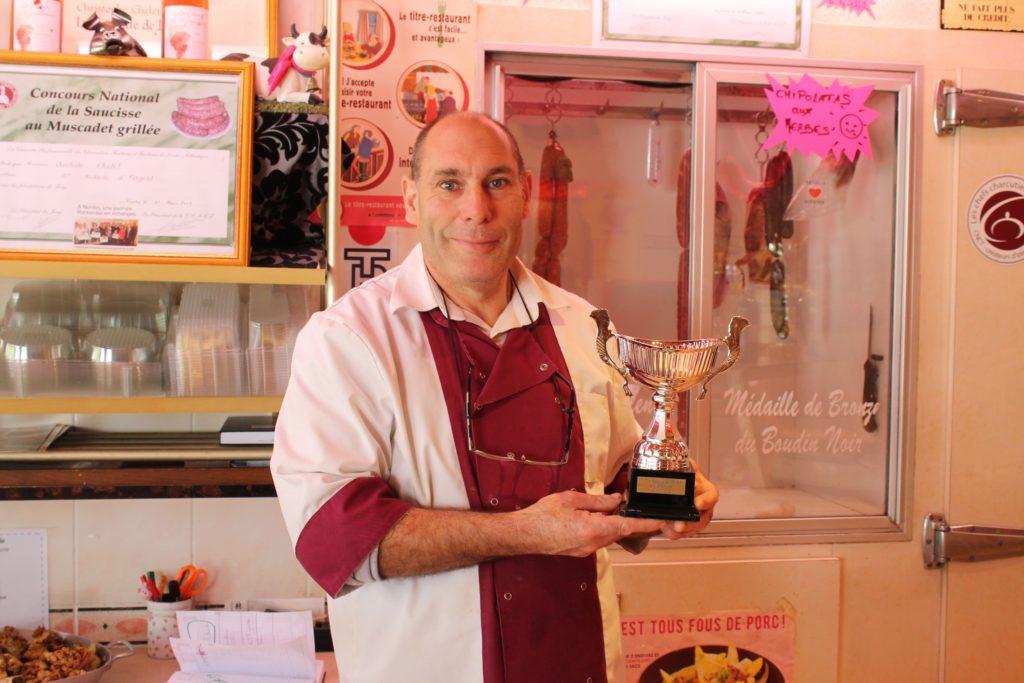 Récompenses Coupes Boucherie Charcuterie Christophe Chelet Saint Nazaire Petitscommerces.fr