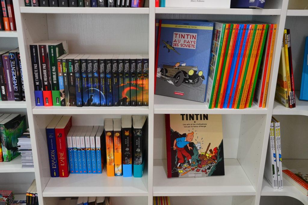 LE ZÈBRE ROUGE librairie jeunesse papeterie 33 rue Brochant 75017 Paris livres albums cadeaux ©Petitscommerces.fr petit commerce petits commerces 8