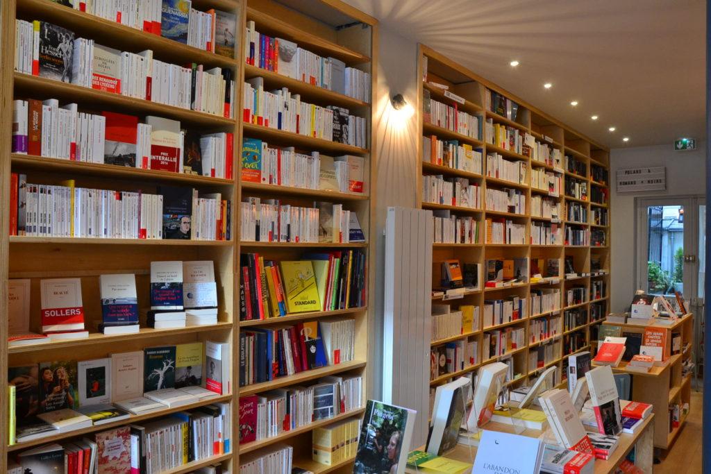 Librairie Comme une Orange 46 Rue Bayen 75017 Paris livres polars ©Petitscommerces.fr petit commerce petits commerces 5