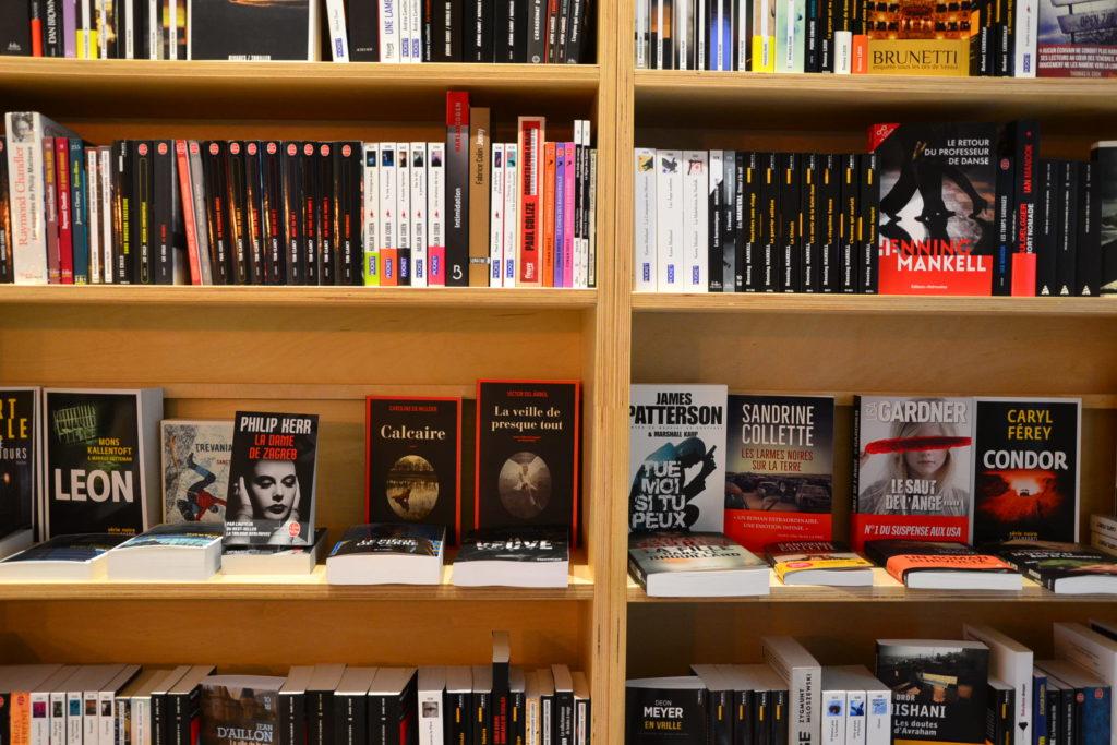 Librairie Comme une Orange 46 Rue Bayen 75017 Paris livres polars ©Petitscommerces.fr petit commerce petits commerces 8
