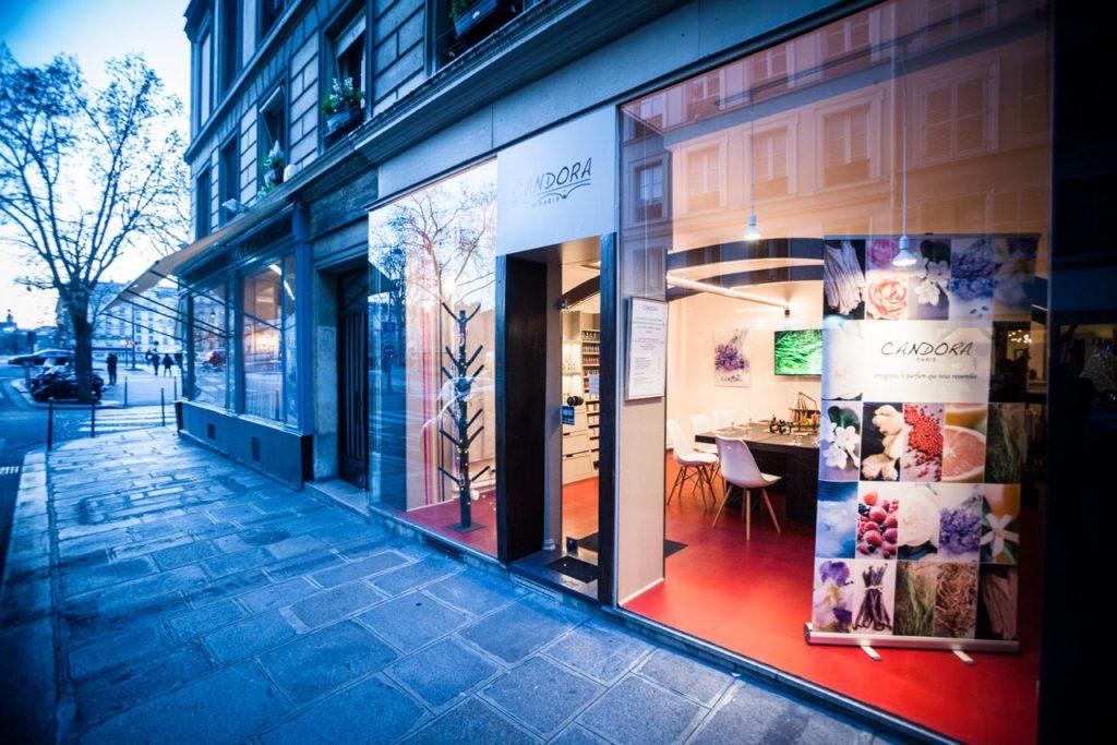Maison Candora 1 rue du Pont Louis-Philippe 75004 Paris Candora Paris parfums sur mesure ©Petitscommerces.fr petit commerce petits commerces 2