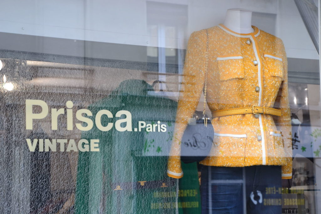 Boutique de créateurs Prisca Paris 69 rue du Mont-Cenis 75018 Paris mode vintage femmes Montmartre ©Petitscommerces.fr petits commerces 4