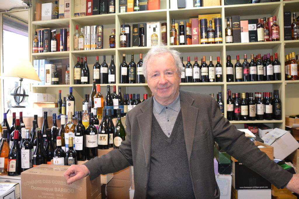 Caves de Passy caviste Paris 16 3 rue Duban cave à vins grands crus conseils Philippe Charmat Pomerol