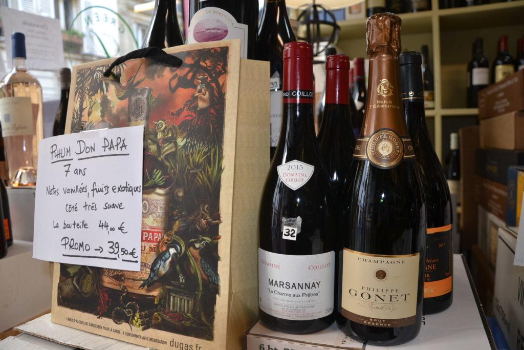 Caves de Passy caviste Paris 16 3 rue Duban cave à vins grands crus conseils Philippe Charmat vins