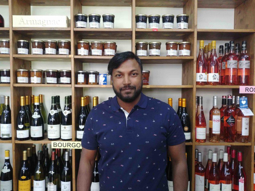 Epicerie fine des Accords Gourmands cave à vins épicerie fine rue du Château-d'Eau Paris 10 devanture caviste petits producteurs champagnes bieres Thiso
