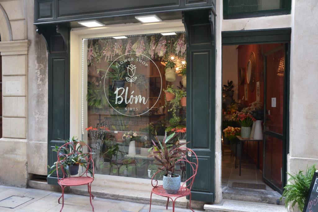 Fleuriste Blòm 4 rue Littré 30000 Nîmes fleurs bouquets événementiel ©Petitscommerces.fr petits commerces 1