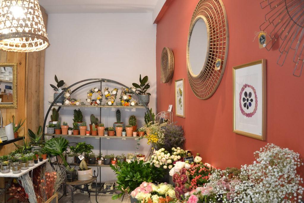 Fleuriste Blòm 4 rue Littré 30000 Nîmes fleurs bouquets événementiel ©Petitscommerces.fr petits commerces 2