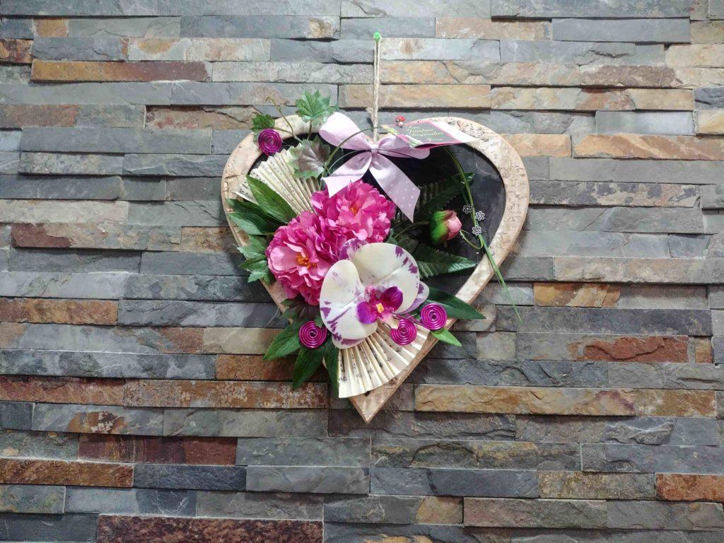 Fleurs de l'Olympe fleuriste Goussainville centre commercial Carrefour Gonesse Arnouville fleurs fraiches de qualité fleurs roses éternelles décoration cadre
