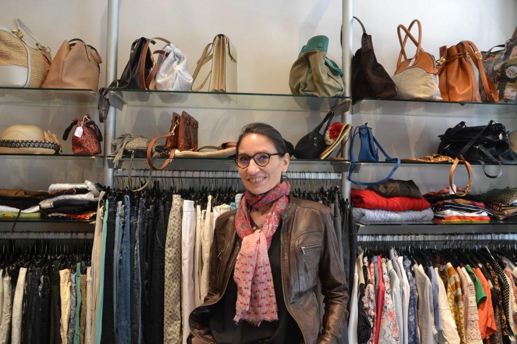 Les Belles Idées dépôt-vente boutique seconde main rue Vaugirard Paris 15 Comptoir des Cotonniers, Sonia Rykiel, Maje, Tod's, Agnès B Sylvie2