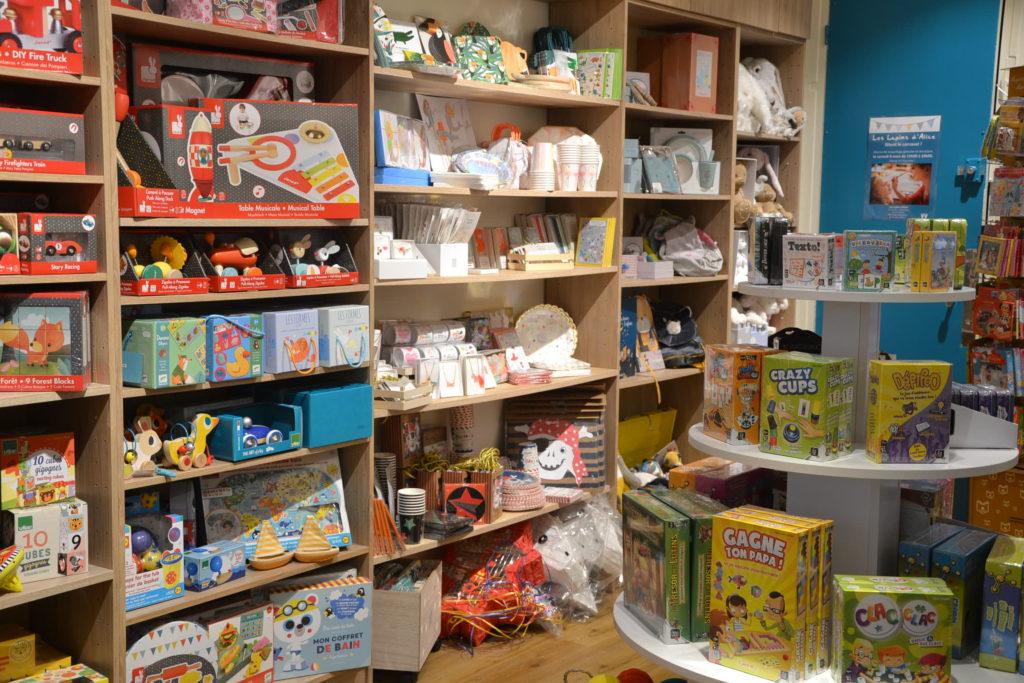 Les Lapins d'Alice boutique de jouets 22 rue Cler 75007 Paris jeux jouets ©Petitscommerces.fr petits commerces 5