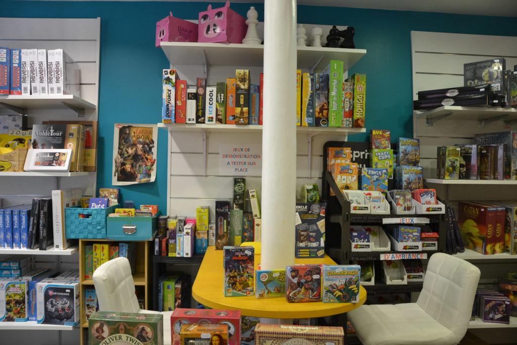L'Ile à jeux boutique de jeux de société 6 rue du Pré Saint-Gervais 93260 Les Lilas jeux de stratégie jeux d'ambiance ©Petitscommerces.fr petits commerces 3
