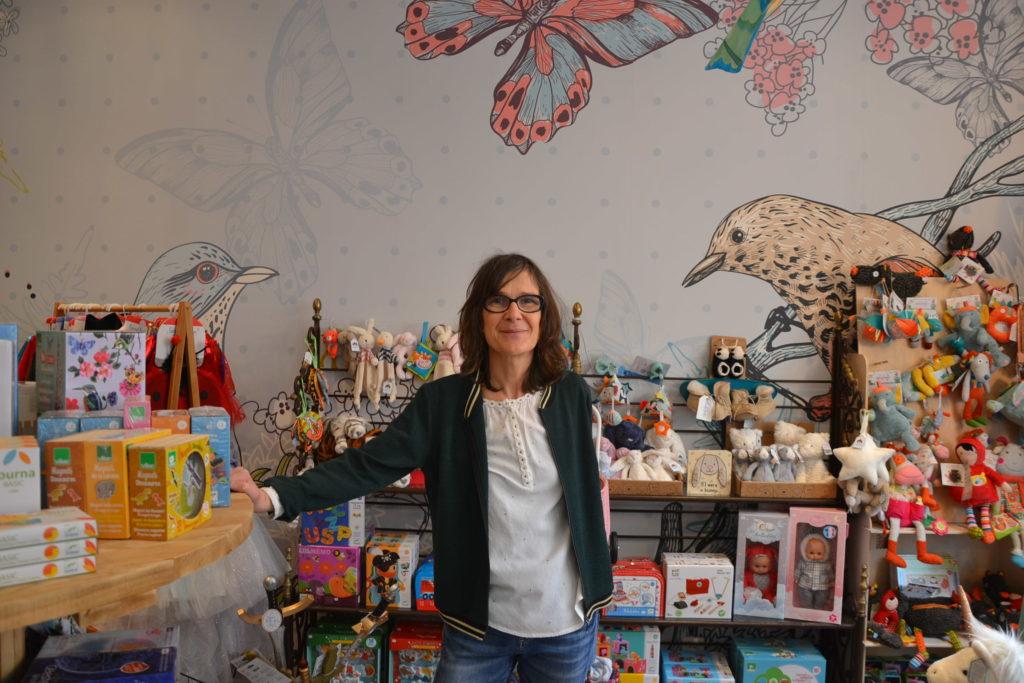 Mamounetta boutique de jouets pour enfants Colombes avenue Henri Barbusse jeux maroquinerie boutique Vilac Buki Djeco Stephanie
