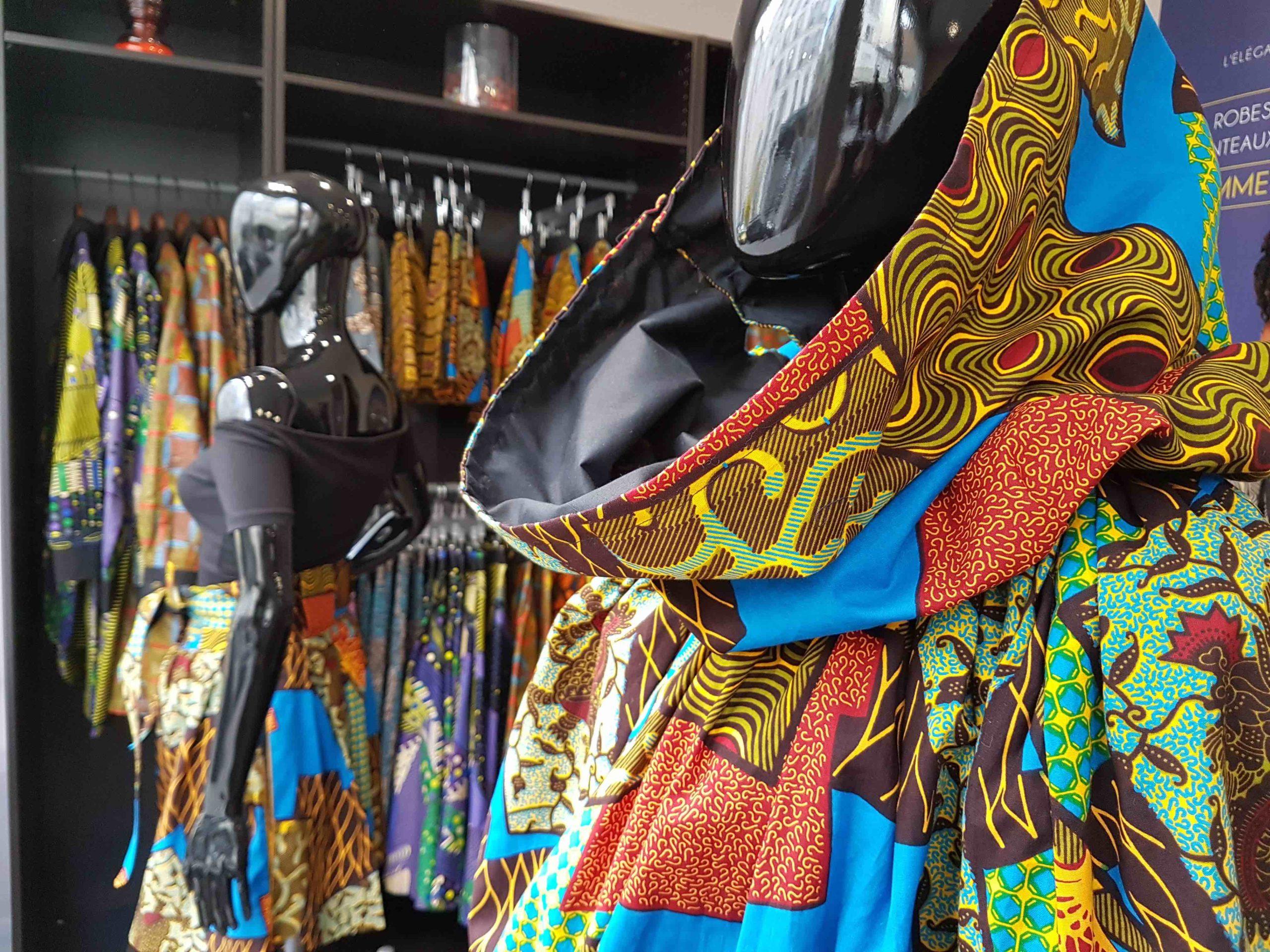 Mansaya Boutique De Createur Vetements En Wax Paris 11 Petitscommerces Fr