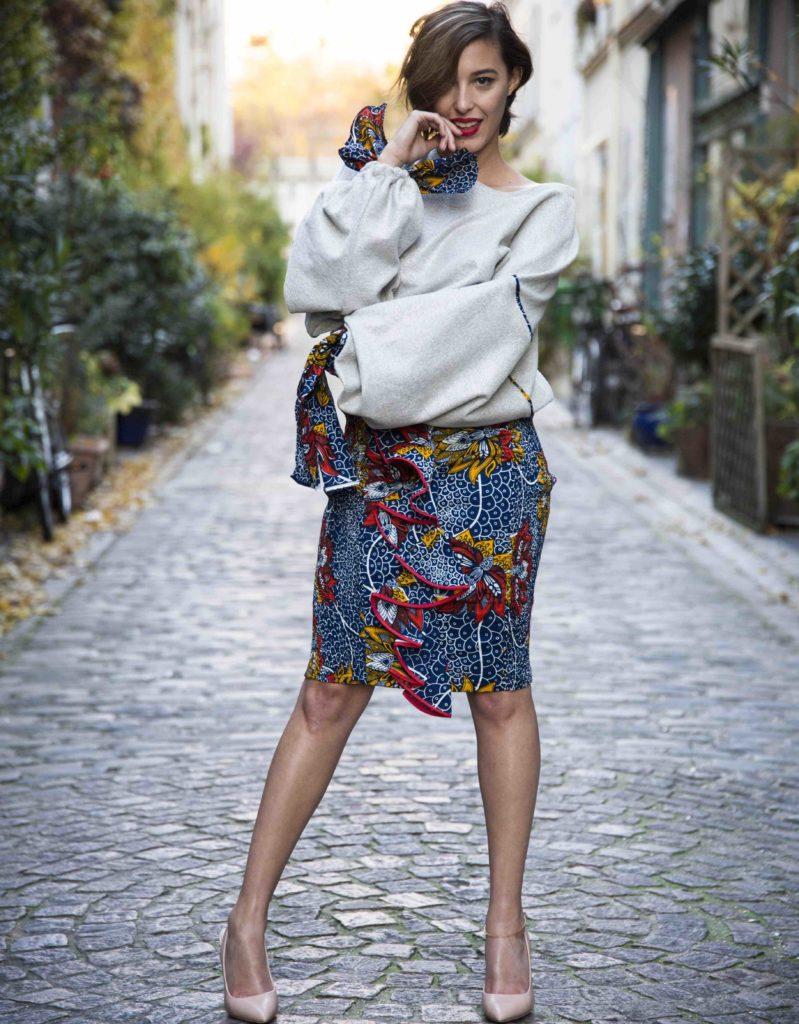 Mansaya Boutique wax Paris vetements accessoires rue Leon Frot Paris 11 créatrice wax Afrique mode robes jupes couleurs imprimes Adama @ArthurENARD