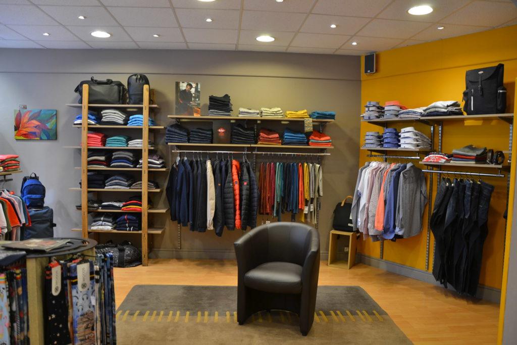 Prêt-à-porter A'loa 8 rue Daniel Lereuil 62140 Hesdin vêtements femmes hommes ©Petitscommerces.fr petits commerces 4