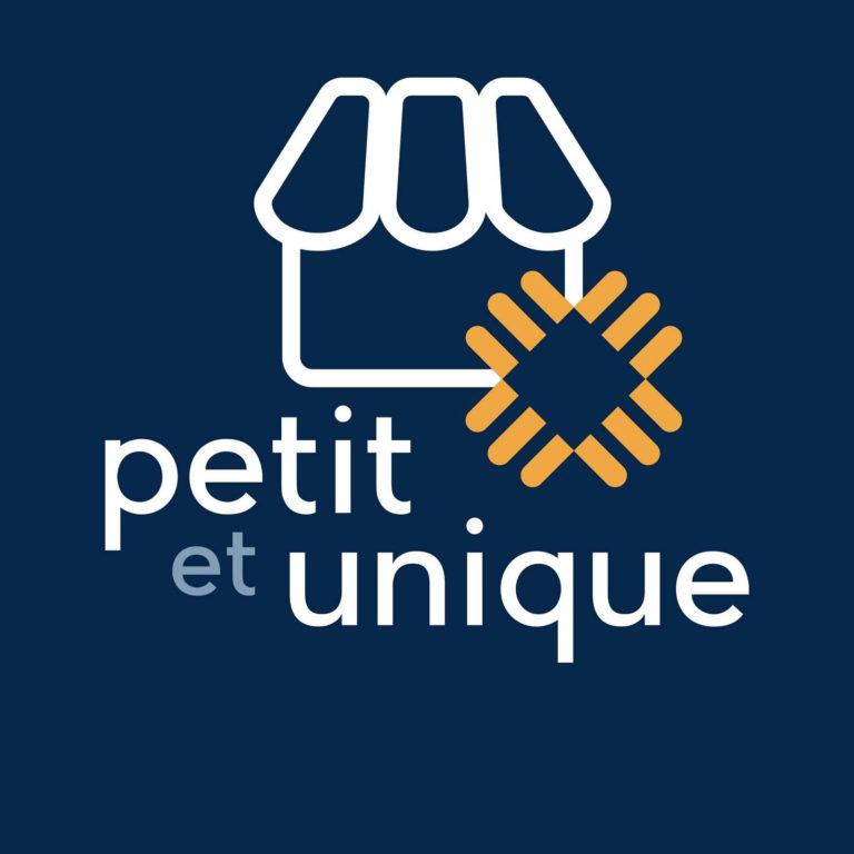 Label Sticker Petitscommerces Petit et unique Petitscommerces.fr
