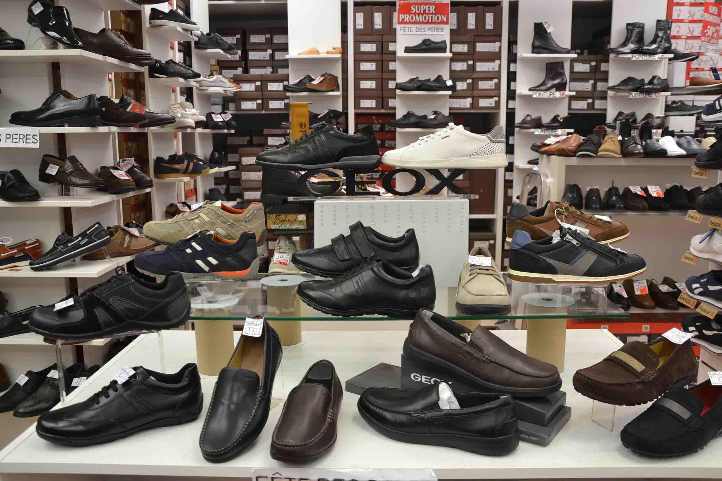 michel chaussure revendeur geox