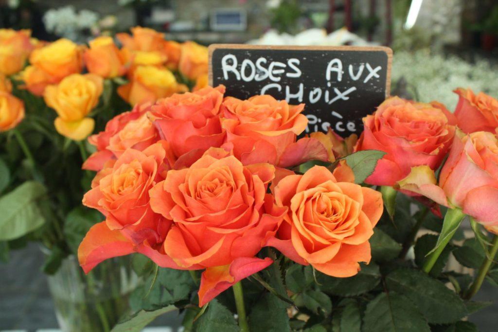 Les Jardins d-Andalousie fleuriste fleurs bouquet roses boutique paris 18 marcadet poissonniers petit commerce www.petitscommerces.fr