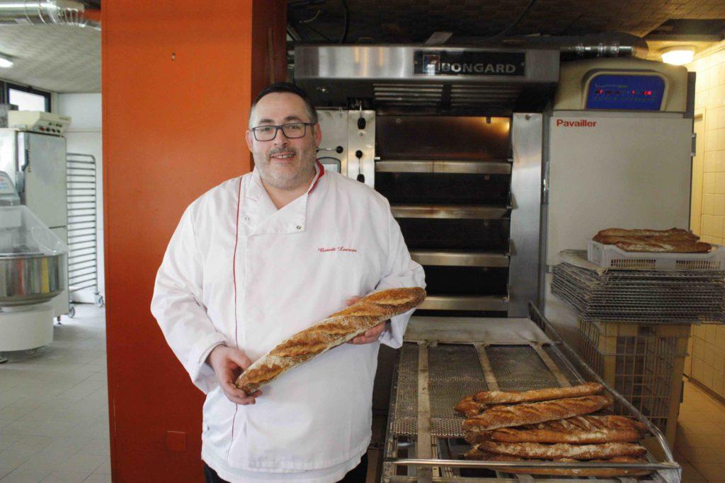 Maison Lacroix Boulangerie Saint-Nazaire Sunderland Plaisance Magali Benoit Lacroix artisan boulanger patissier boulevard laennec pains au chocolat maison