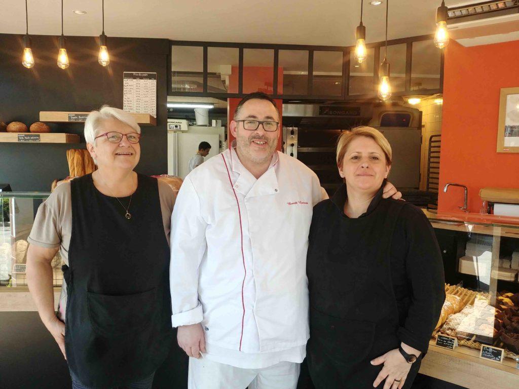 Maison Lacroix Boulangerie Saint-Nazaire Sunderland Plaisance Magali Benoit Lacroix artisan boulanger boulevard laennec équipe Isabelle Magali