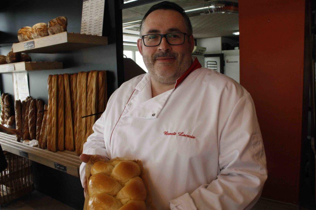 Maison Lacroix Boulangerie Saint-Nazaire Sunderland Plaisance Magali Benoit Lacroix artisan boulanger patissier boulevard laennec spécialité brioche grand-mère