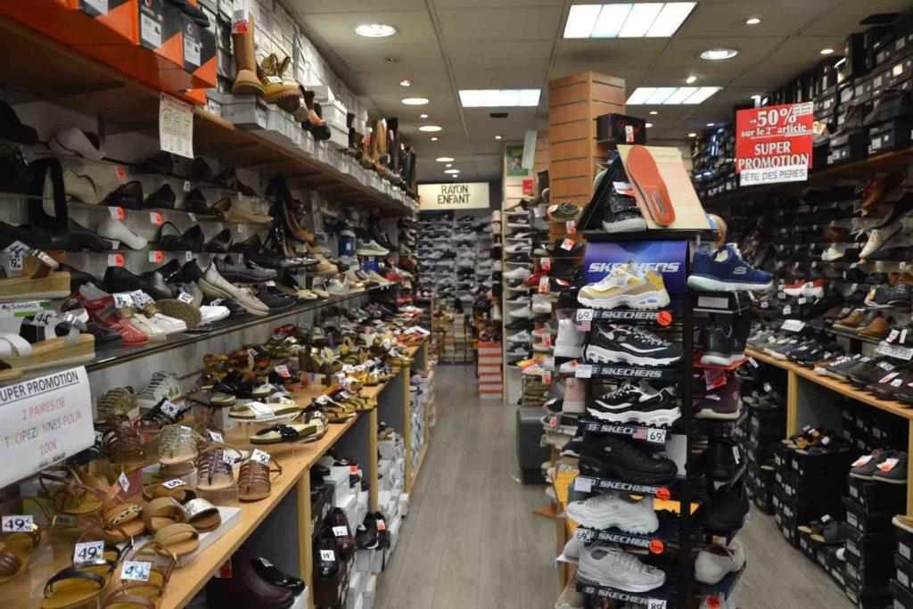 Chaussures Lucky boutique de chaussures avenue de Clichy Paris 17 Timberland, Skechers, Rieker, Redskins, Geox, Levis, Tropezienne, Dockers TBS