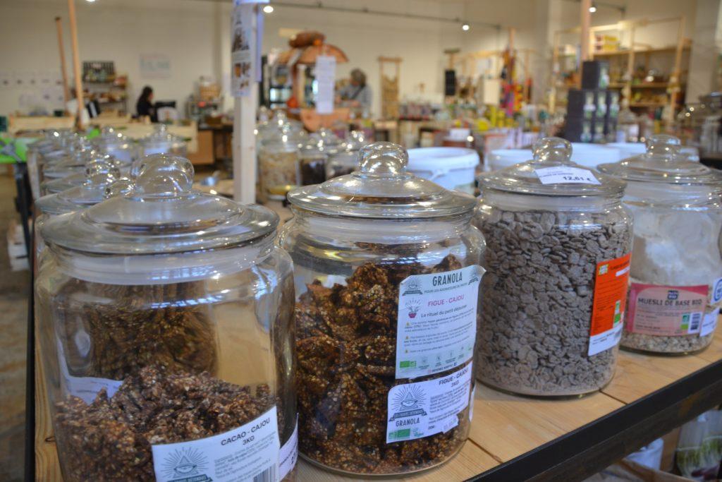 Smile Argenteuil épicerie vrac bio locale zéro déchet café cantine vegan 55 rue Antonin Georges Belin céréales