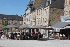 Le centre-ville de Guingamp est en pleine forme