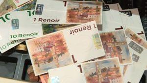 Monnaie locale le Renoir fete ses trois ans à Cagnes-sur-Mer