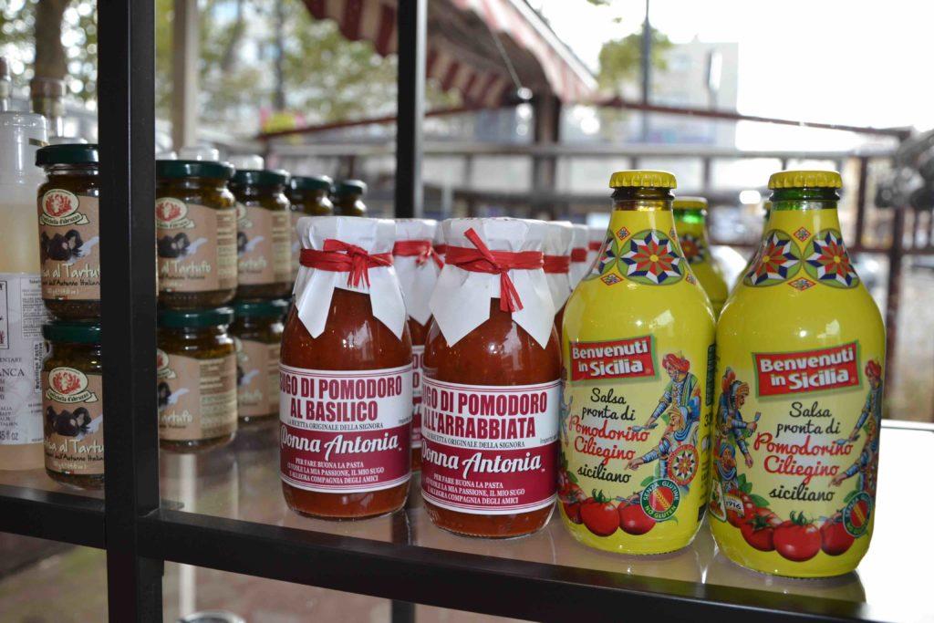 A Palizzi épicerie italienne 70 Gabriel Péri Argenteuil sauces italiennes