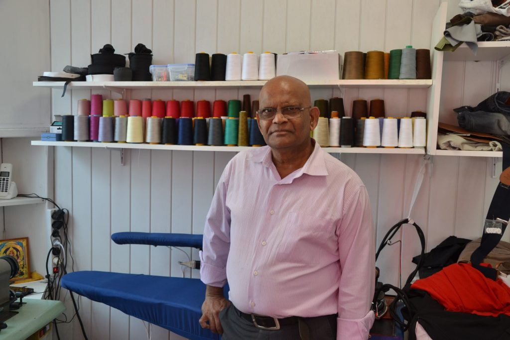Alan Retouche Argenteuil tailleur couture ourlet doublure cintrage rue Paul Vaillant Couturier Argenteuil