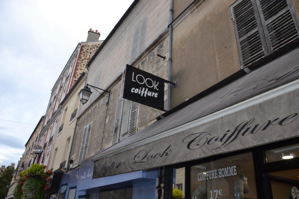 Look Coiffure salon de coiffure Argenteuil coiffeur homme femme rue Paul Vaillant Couturier devanture