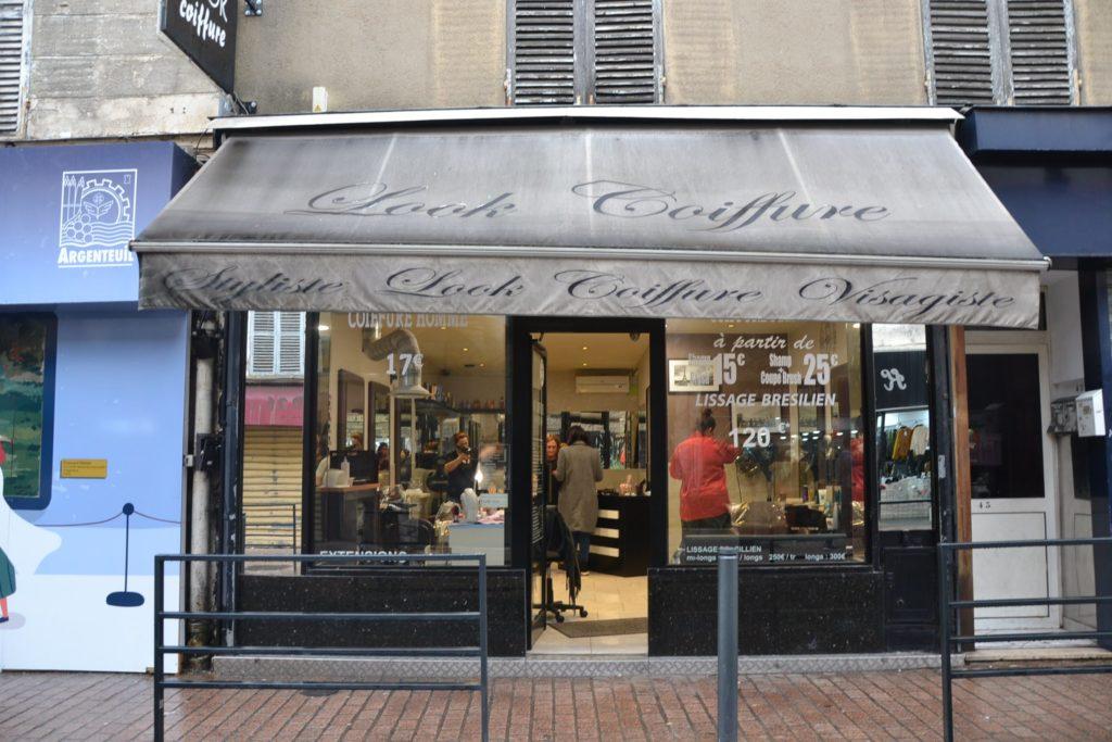 Look Coiffure salon de coiffure Argenteuil coiffeur homme femme rue Paul Vaillant Couturier devanture2