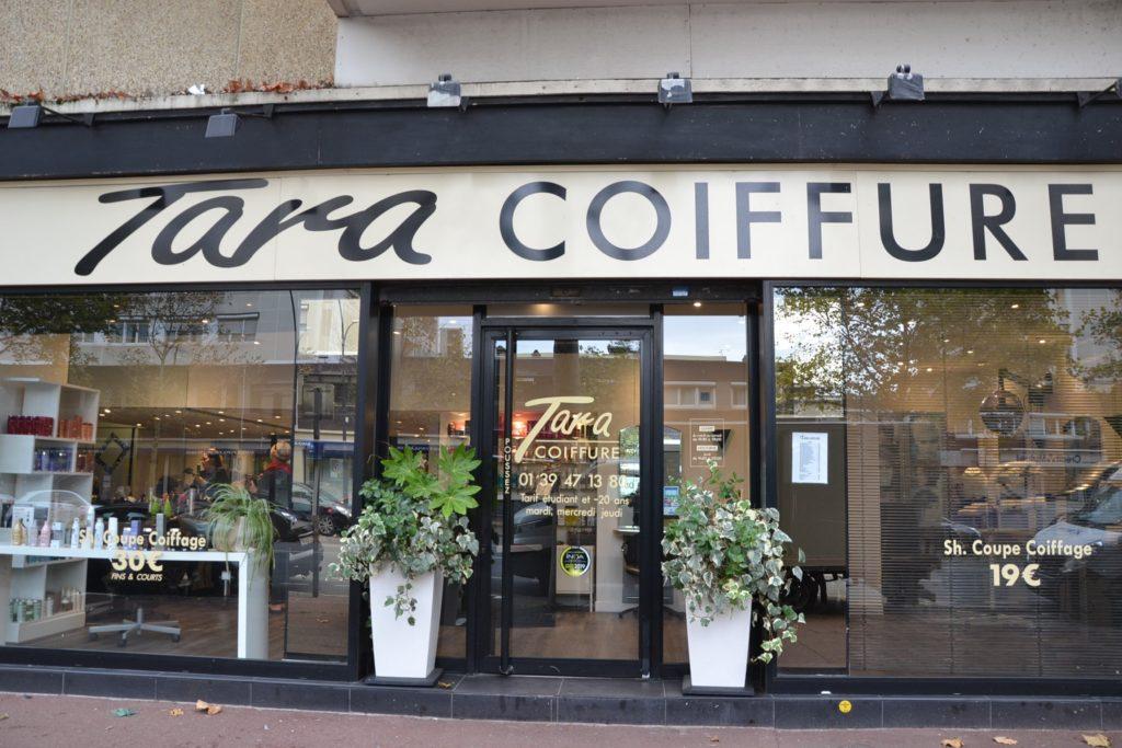 Tara Coiffure coiffeur Argenteuil salon de coiffure relooking 54 avenue Gabriel Péri Argenteuil Toura devanture