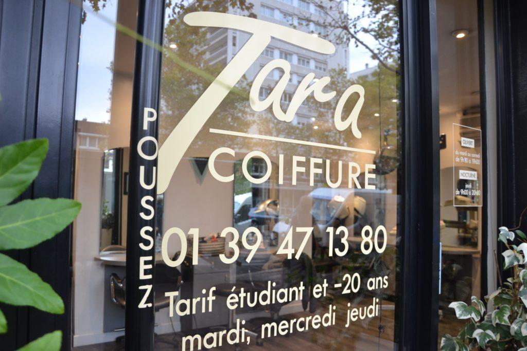 Tara Coiffure coiffeur Argenteuil salon de coiffure relooking 54 avenue Gabriel Péri Argenteuil Toura entree