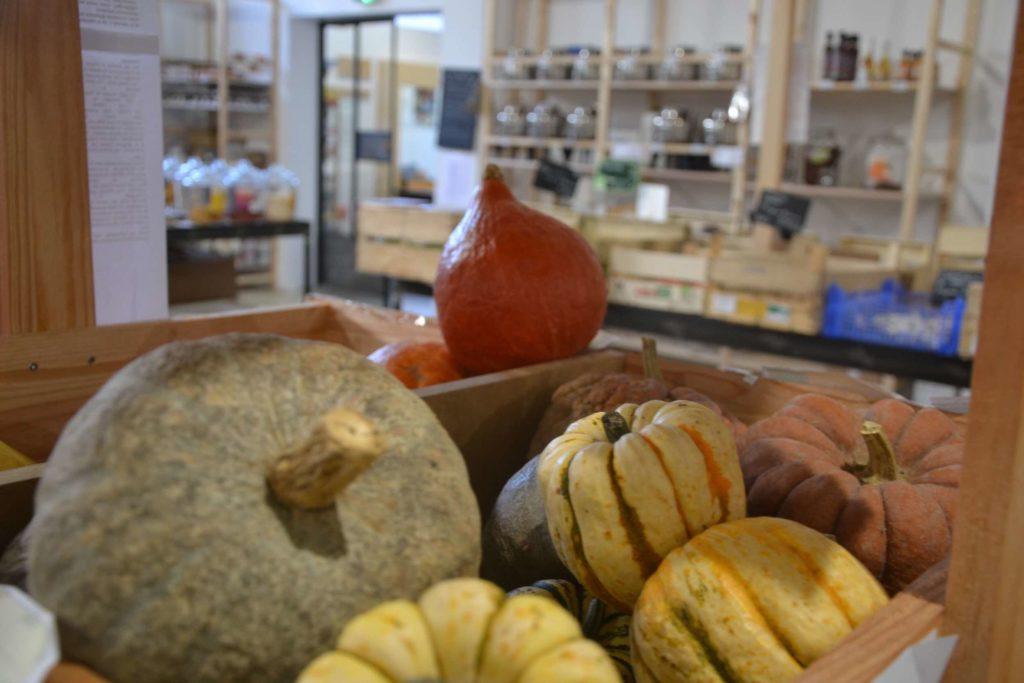 Smile Argenteuil épicerie vrac bio locale zéro déchet café cantine vegan 55 rue Antonin Georges Belin legume