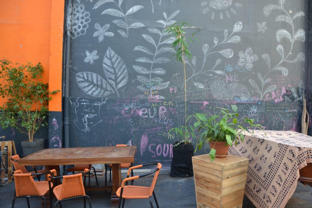 Smile Argenteuil épicerie vrac bio locale zéro déchet café cantine vegan 55 rue Antonin Georges Belin terrasse