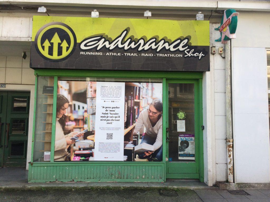 République ! Témoignages de commerçants sur des vitrines vides de l'avenue de la république Saint-Nazaire librairie l'embarcadère boutique