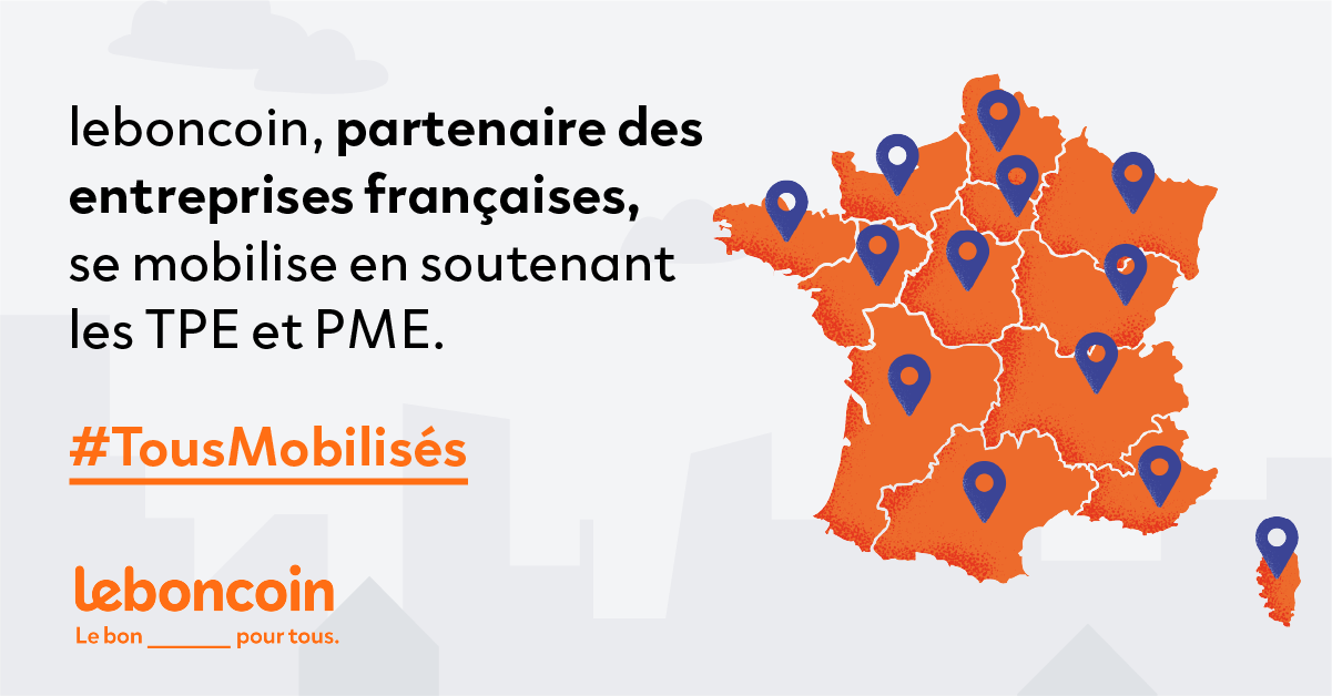 Leboncoin Partenaire Petitscommerces.fr Soutien-Commercants-Artisans.fr