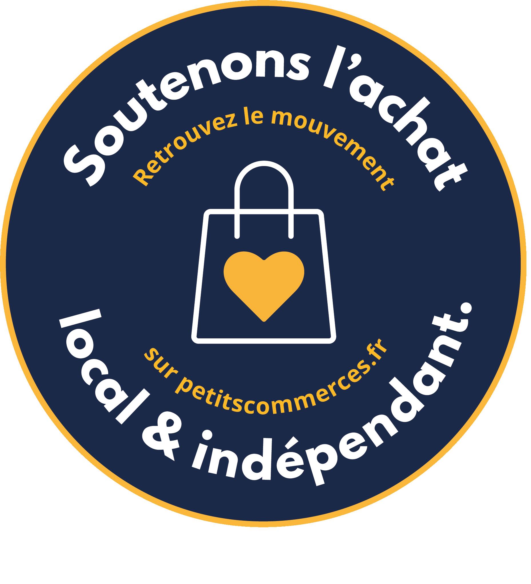 Mouvement Soutenons l'achat local & indépendant sur Petitscommerces.fr